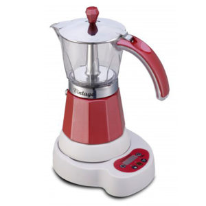 электрическая гейзерная кофеварка gat vintage