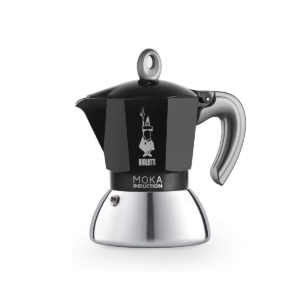 Гейзерная кофеварка BIALETTI INDUZIONE NERA 2TZ